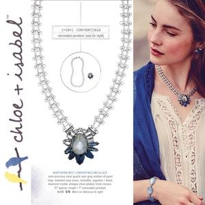 Chloe + Isabel Accessories - 🆕💙 Northern Mist Convertible Necklace c+i N346